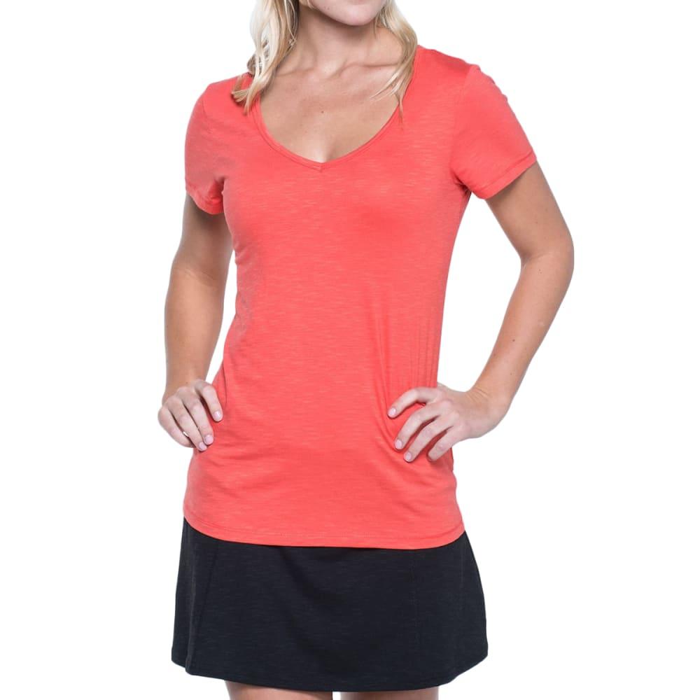 TOAD & CO. Women's Marley Short-Sleeve Tee - RHUBARB-659