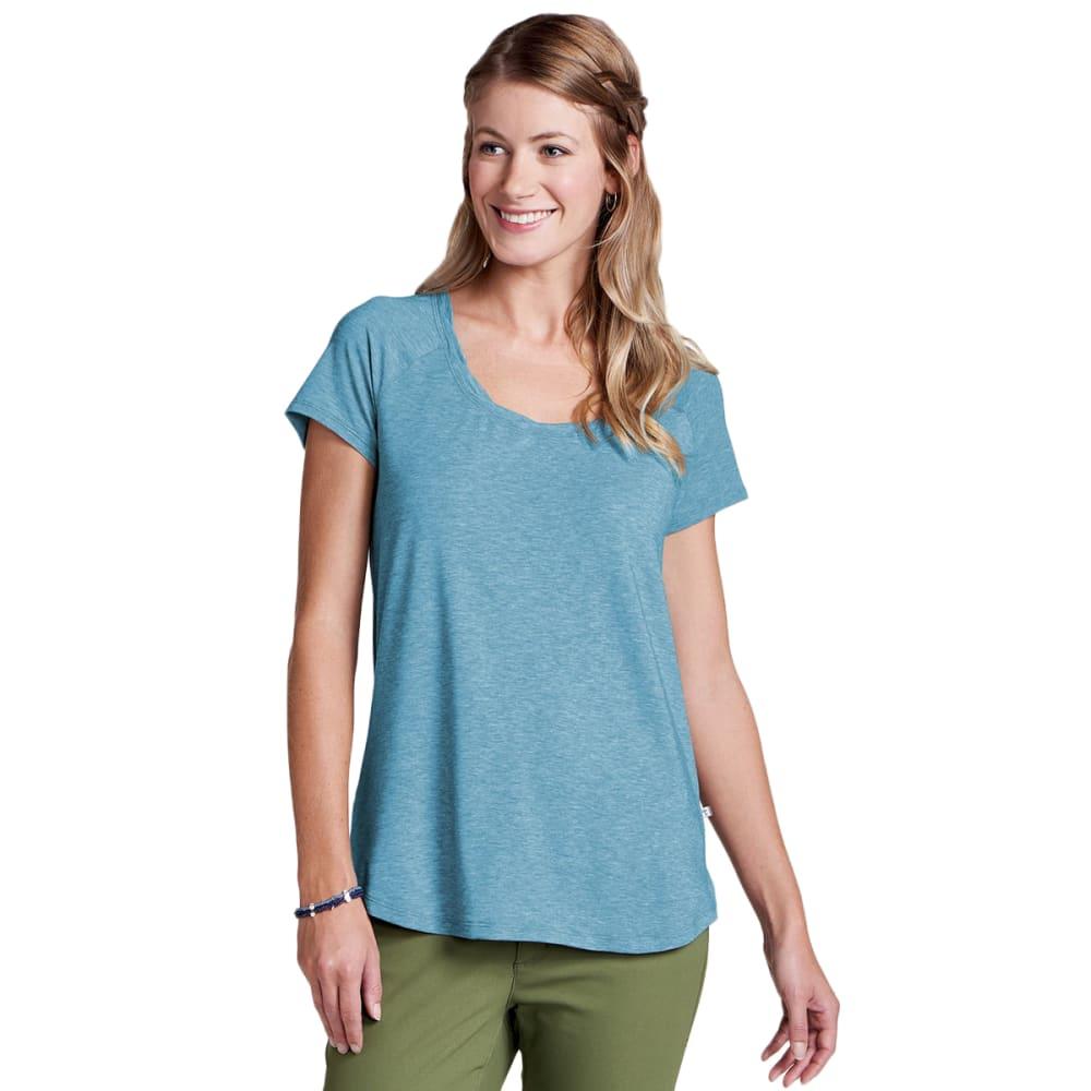 TOAD & CO. Women's Swifty Scoop Neck Short-Sleeve Tee - 459-DEEPWATER