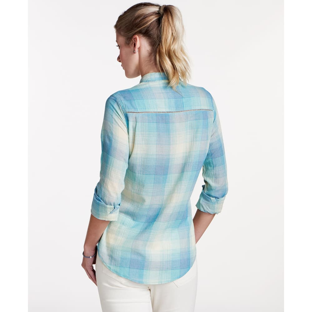 TOAD & CO. Women's Airbrush Deco Long-Sleeve Shirt - 400-AQUIFER
