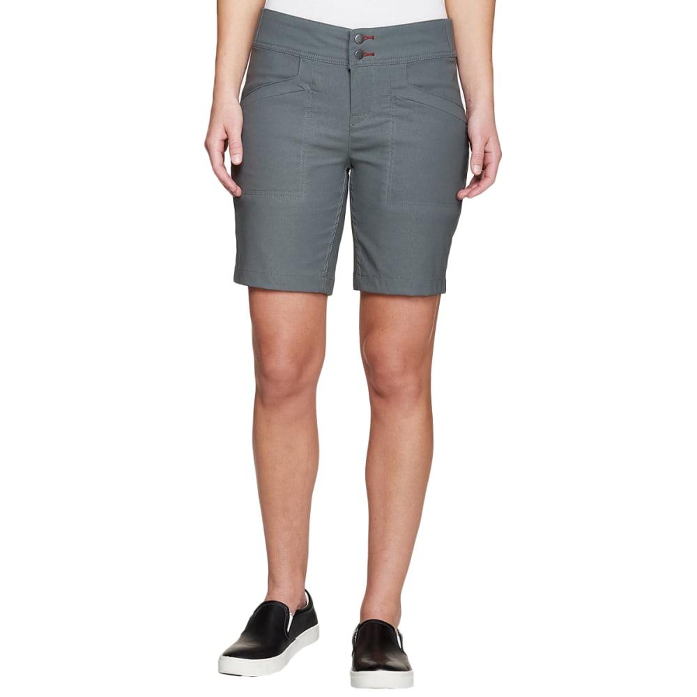 """TOAD & CO. Women's Flextime Short 8"""" - 004-DARK GRAPHITE"""