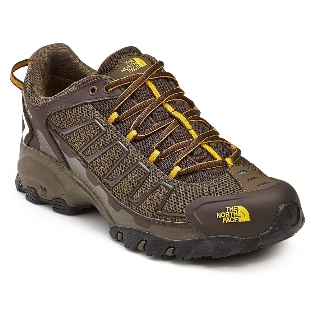 THE NORTH FACE Men's Ultra 109 Trail Running Shoes - WEIMARANER BROWN