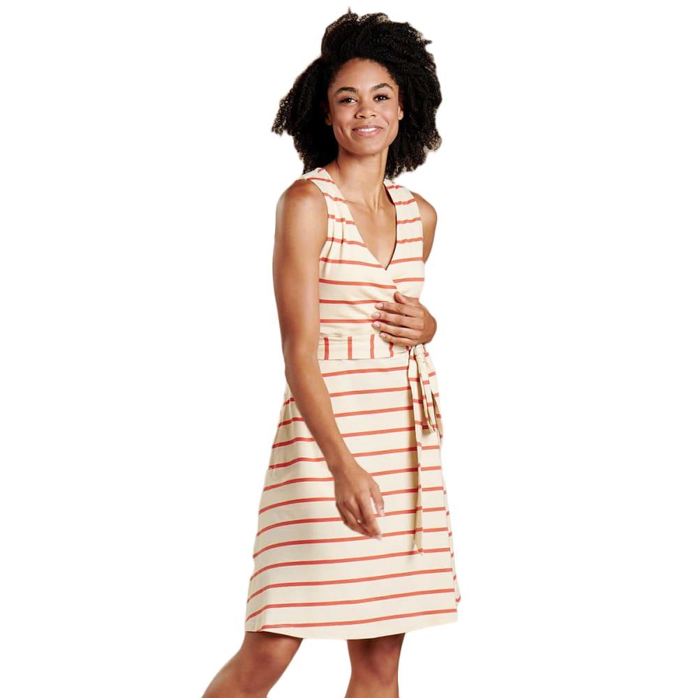 TOAD & CO. Women's Cue Wrap Sleeveless Dress M