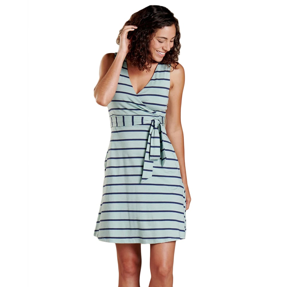 TOAD & CO. Women's Cue Wrap Sleeveless Dress S