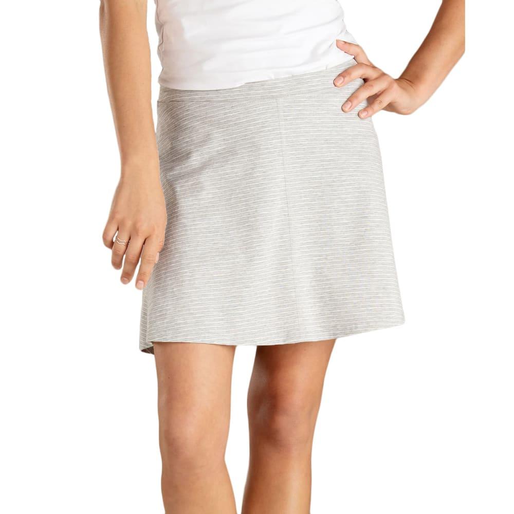 TOAD & CO. Women's Seleena Skort - 049-HEATH GREY/STRIP