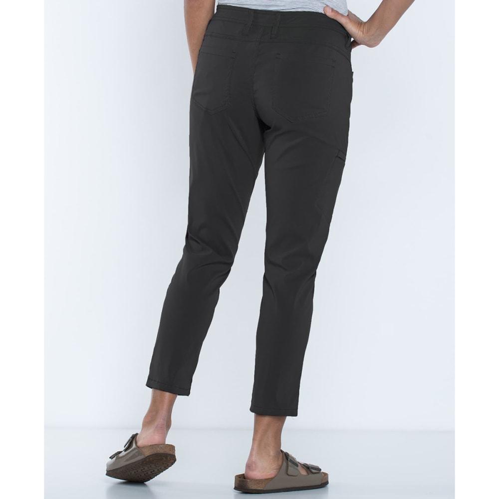 TOAD & CO. Women's Jetlite Crop Pants - 100-BLACK