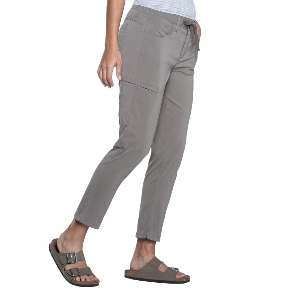 TOAD & CO. Women's Jetlite Crop Pants - 203-FALCON BROWN