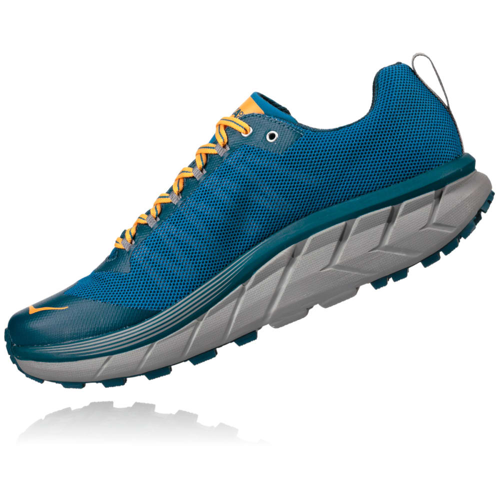 HOKA ONE ONE Men's Challenger ATR 4 Trail Running Shoes - MYKONOS BLUE - MBLNB