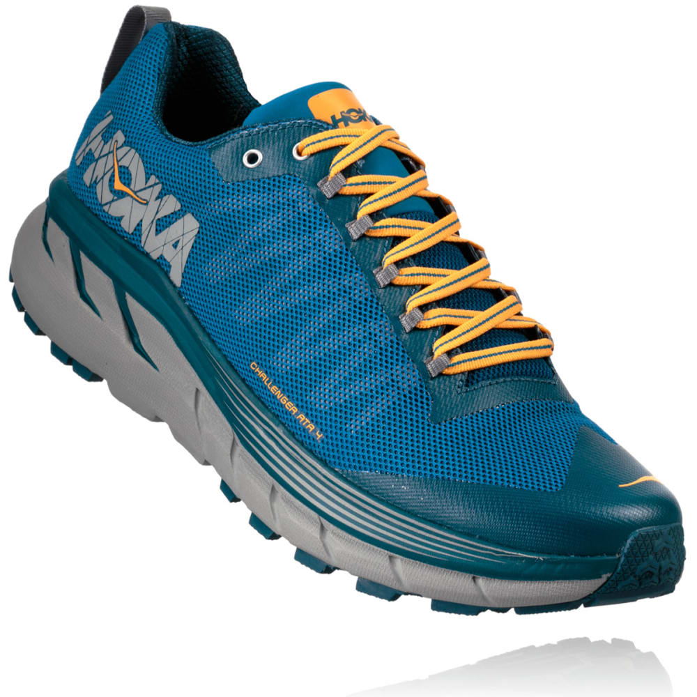 HOKA ONE ONE Men's Challenger ATR 4 Trail Running Shoes - MYKONOS BLUE - MBLNB