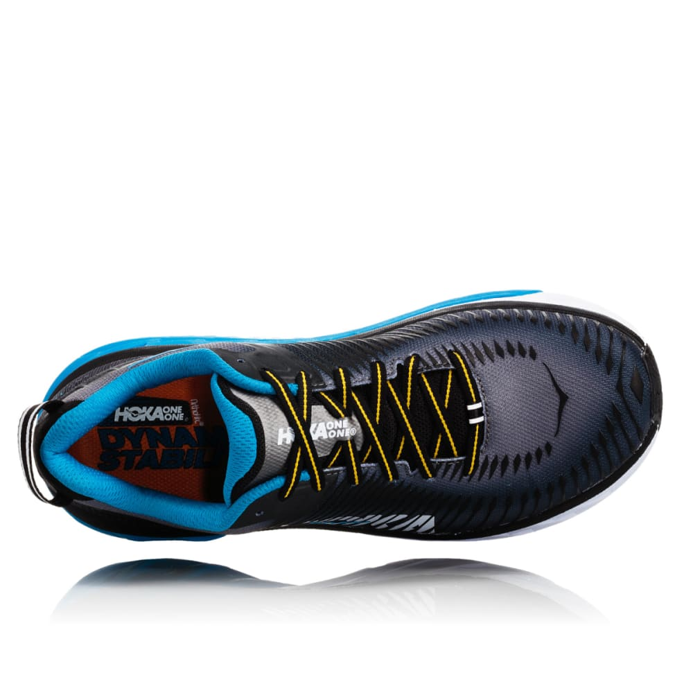 HOKA ONE ONE Men's Arahi 2 Running Shoes - BLACK-BCCG