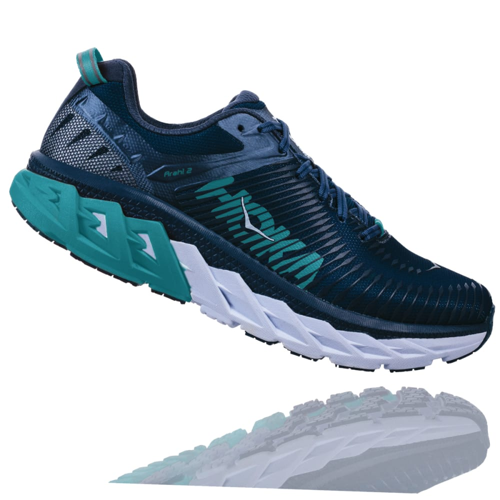 HOKA ONE ONE Women's Arahi 2 Running Shoes - POSEIDON - PVIN
