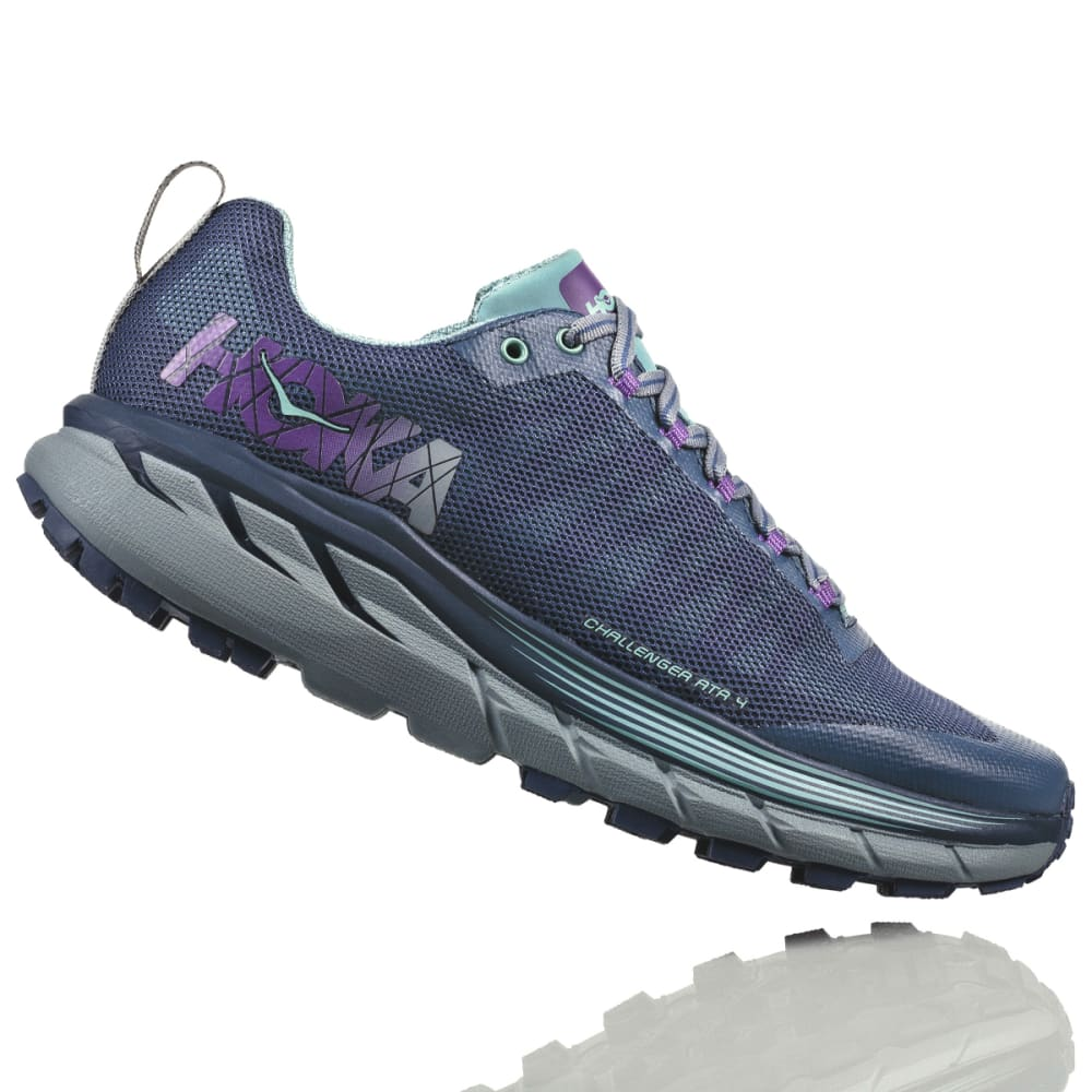 HOKA ONE ONE Women's Challenger ATR 4 Trail Running Shoes - AQUIFER - AVIG