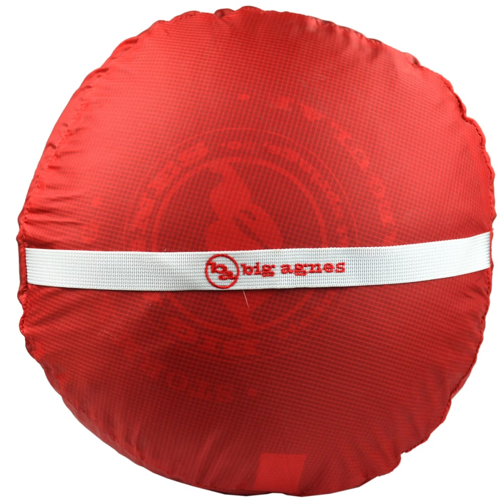 BIG AGNES Stuff Sack, XXL - RED