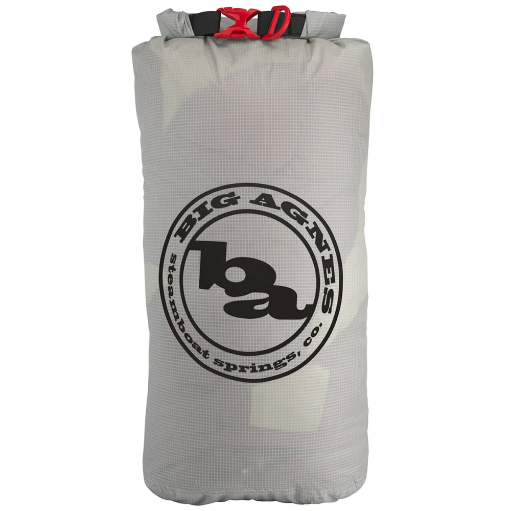 BIG AGNES Tech Dry Bag, 12 L - LIGHT GREY