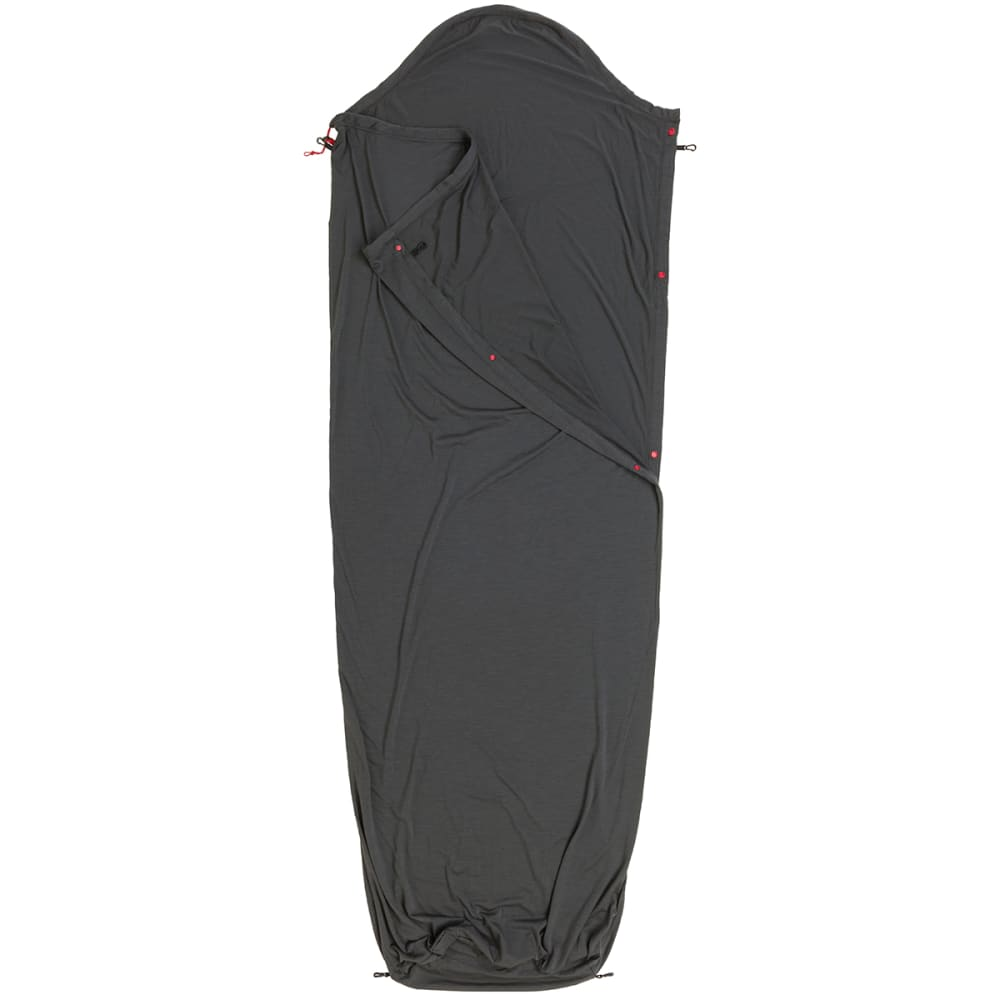BIG AGNES Wool Sleeping Bag Liner - GREY