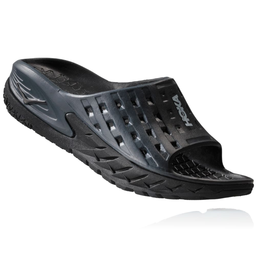 HOKA ONE ONE Women's Ora Recovery Slide Sandals - BLACK - BANT