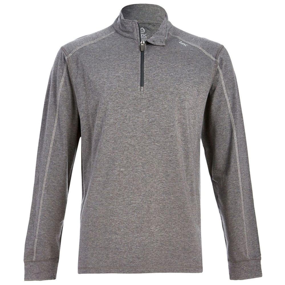 TASC PERFORMANCE Men's Carrollton 1/4 Zip Pullover - HTR GREY/LT GRY-034