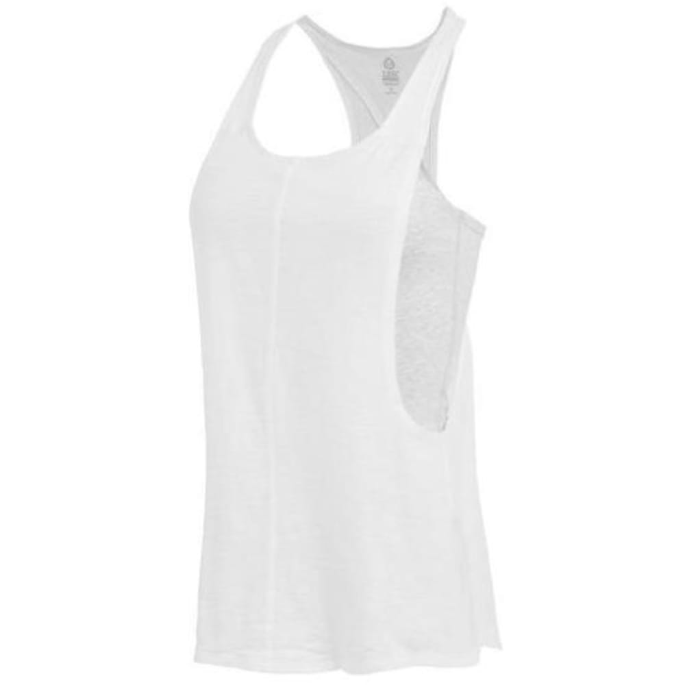 Tasc Performance Women's Street To Studio Ii Tank - White - Size L T-W-584