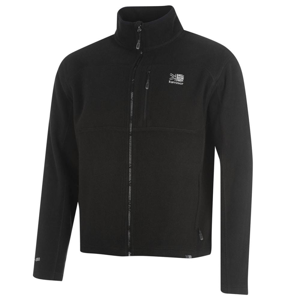 KARRIMOR Men's Fleece Jacket - BLACK