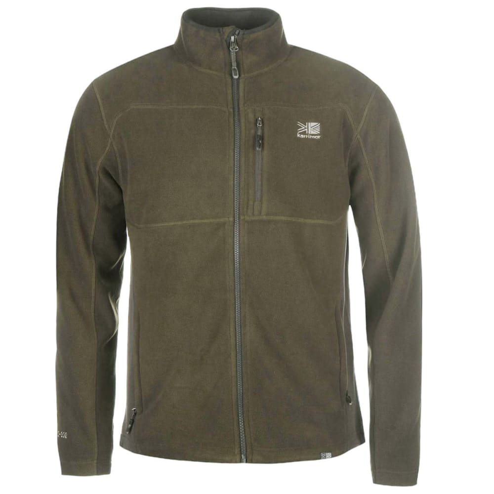 KARRIMOR Men's Fleece Jacket - Green Shade