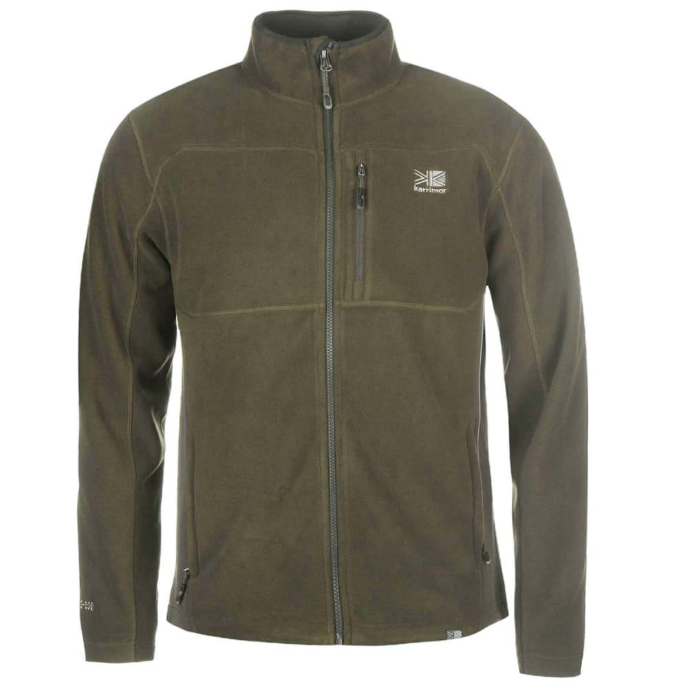 KARRIMOR Men's Fleece Jacket - Green Shade