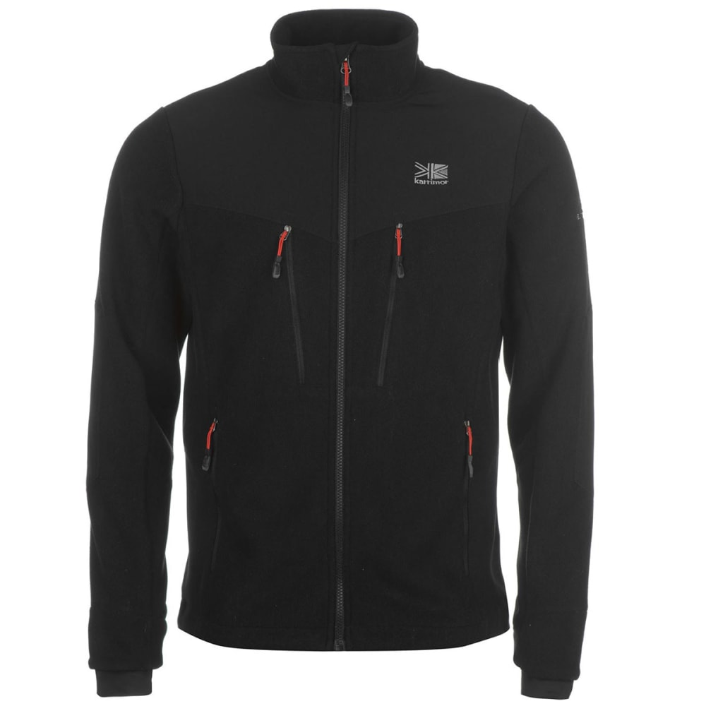 KARRIMOR Men's Hoolie Fleece Jacket - BLACK