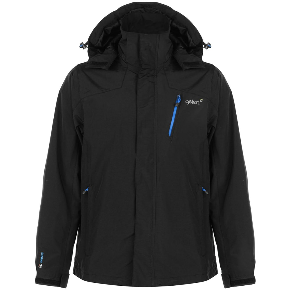 GELERT Men's Horizon Waterproof Jacket - BLACK