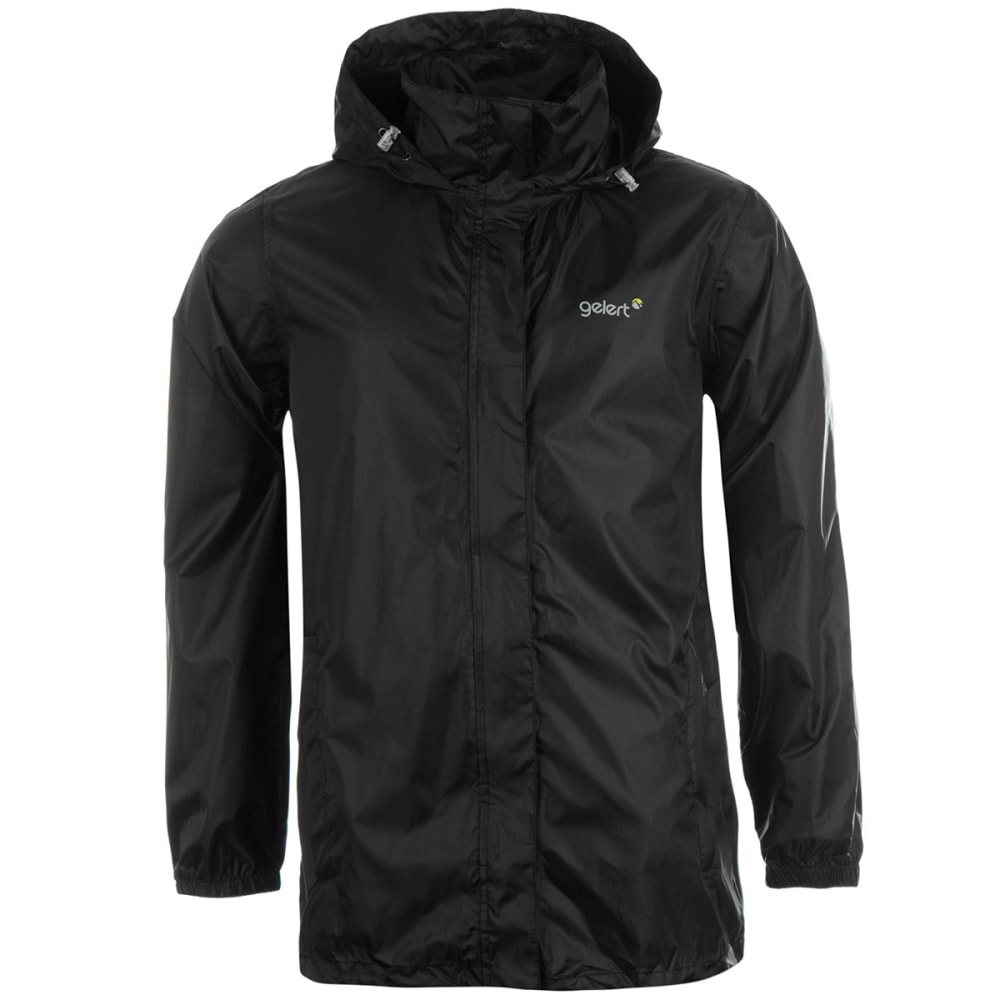 GELERT Men's Packaway Jacket - BLACK