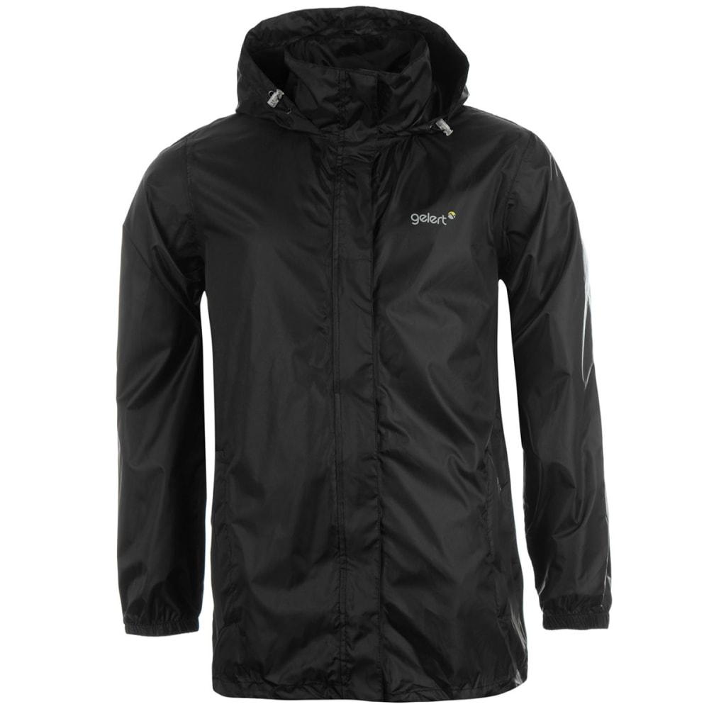 GELERT Men's Packaway Jacket - BLACK