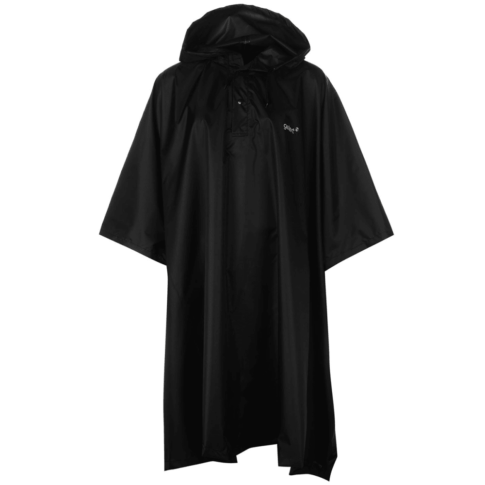 GELERT Waterproof Poncho - BLACK