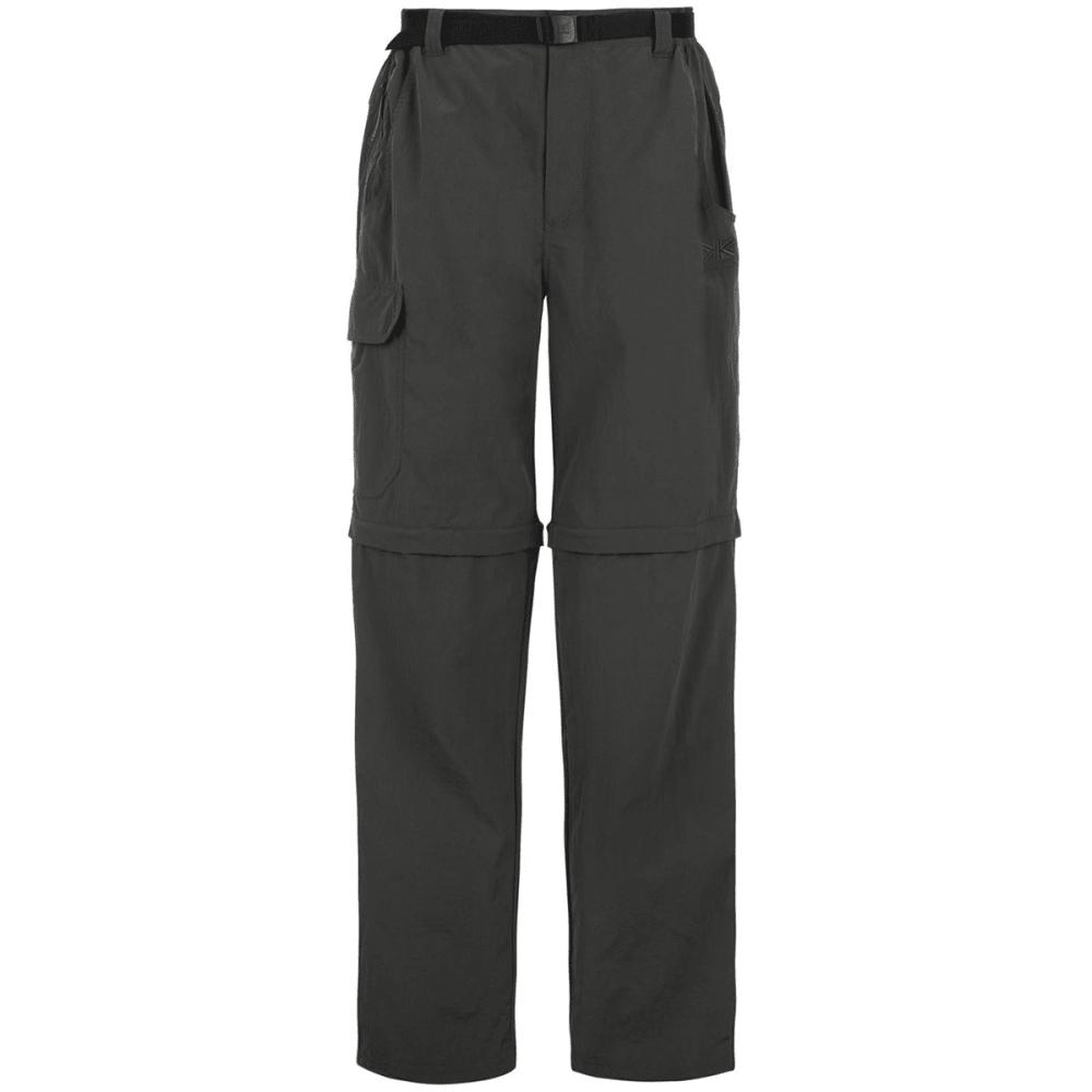 KARRIMOR Men's Zip-Off Pants - CHARCOAL