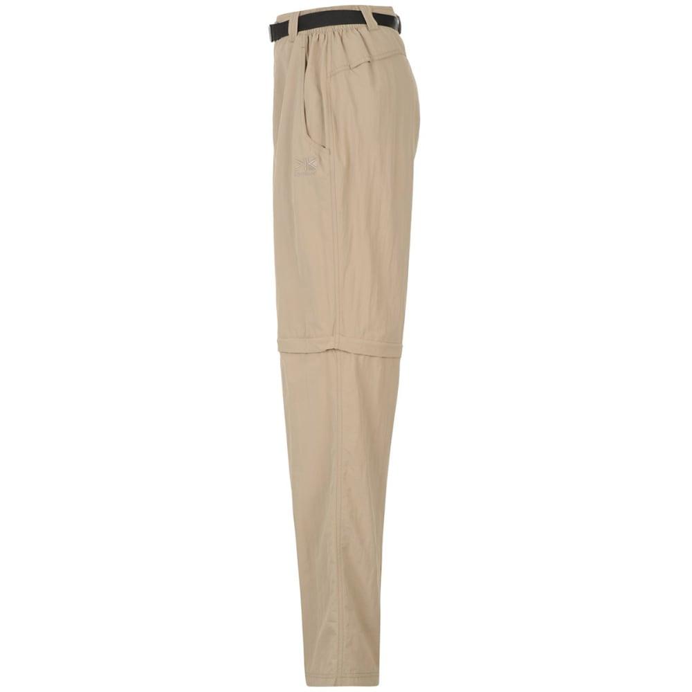 KARRIMOR Men's Zip-Off Pants - BEIGE