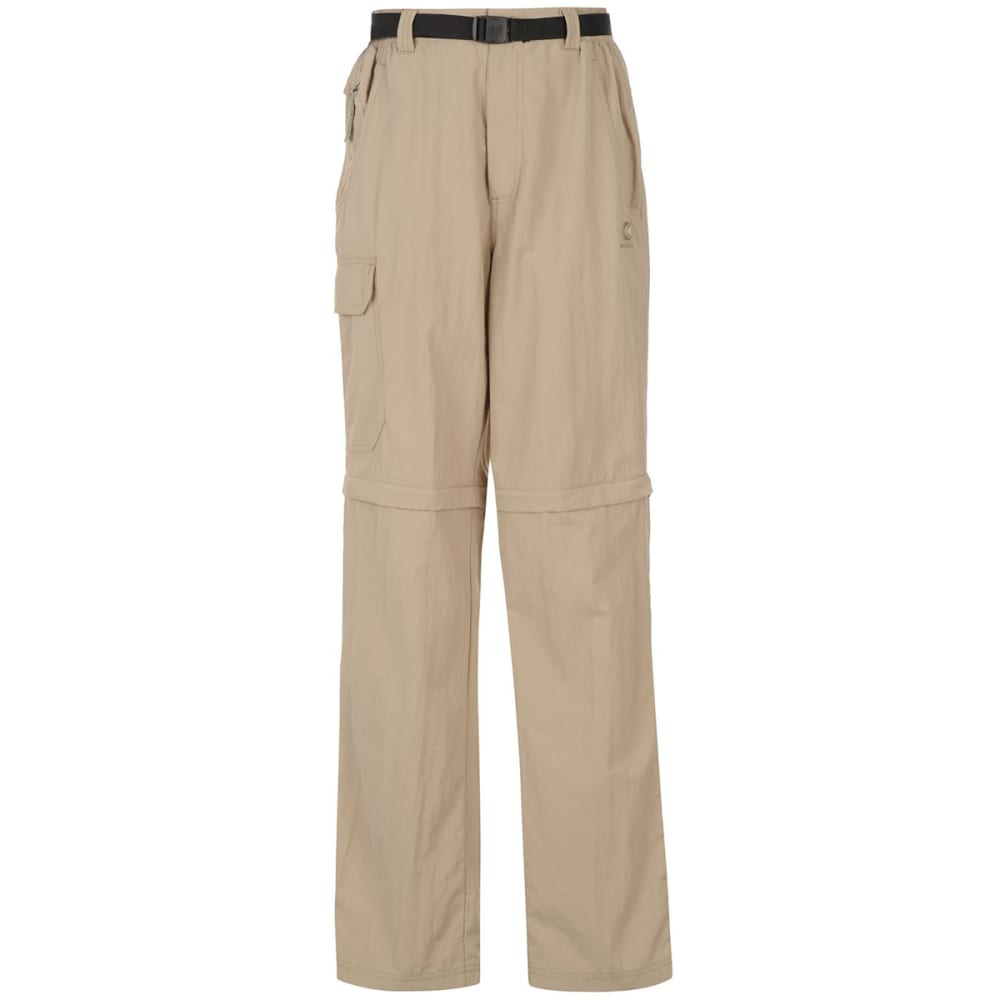 KARRIMOR Men's Zip-Off Pants - BEIGE