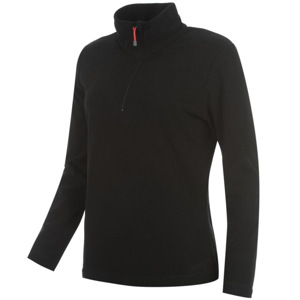 GELERT Women's Atlantis Microfleece Pullover - BLACK