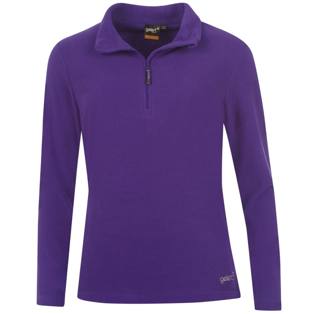 GELERT Women's Atlantis Microfleece Pullover - PURPLE