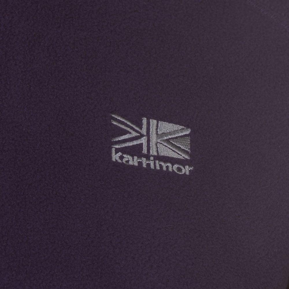 KARRIMOR Women's Microfleece Pullover - PURPLE