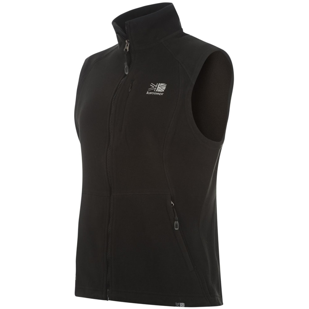 KARRIMOR Women's Fleece Gilet Vest - BLACK