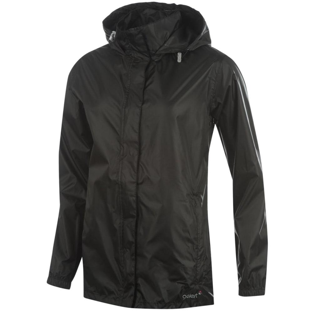 GELERT Women's Packaway Jacket - BLACK