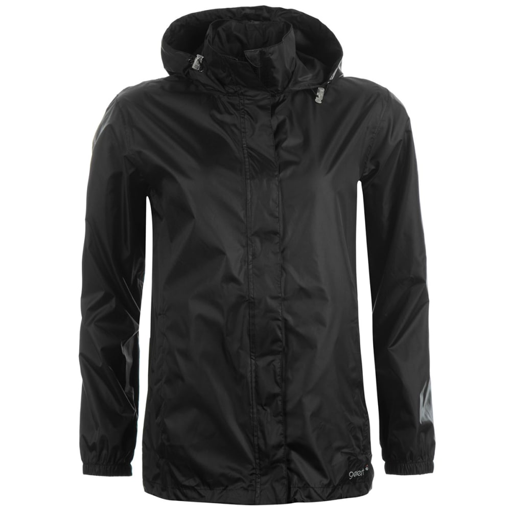 GELERT Women's Packaway Jacket - BLACK
