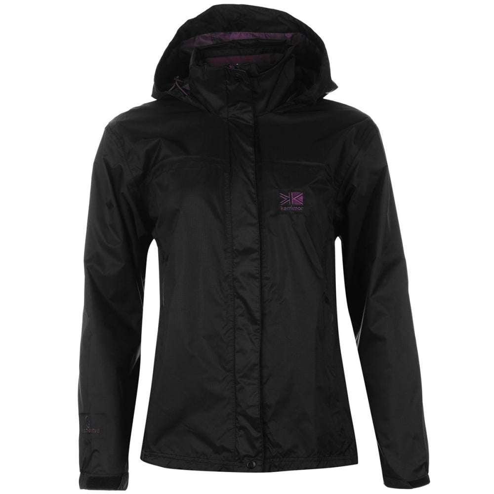 KARRIMOR Women's Sierra Jacket - Black/R Purple