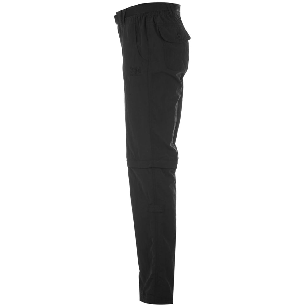 KARRIMOR Women's Zip-Off Pants - BLACK