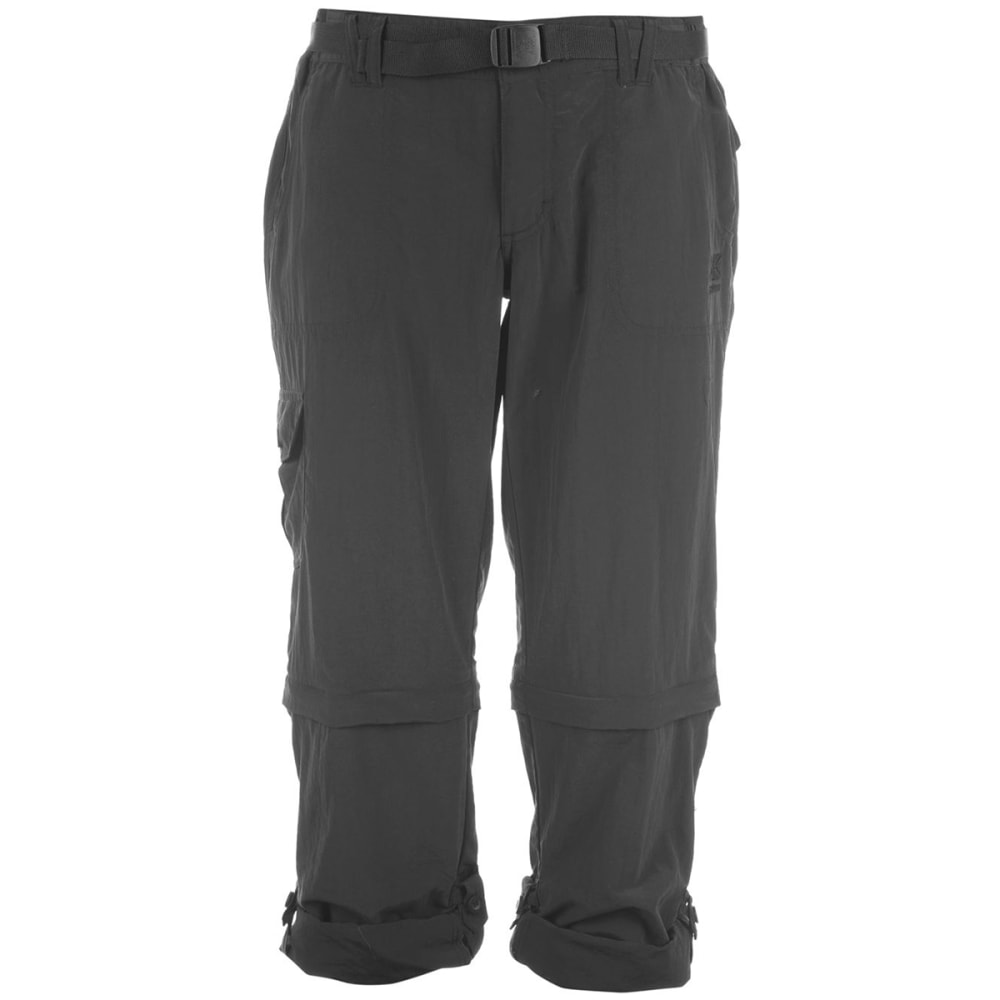 KARRIMOR Women's Zip-Off Pants - BLACK
