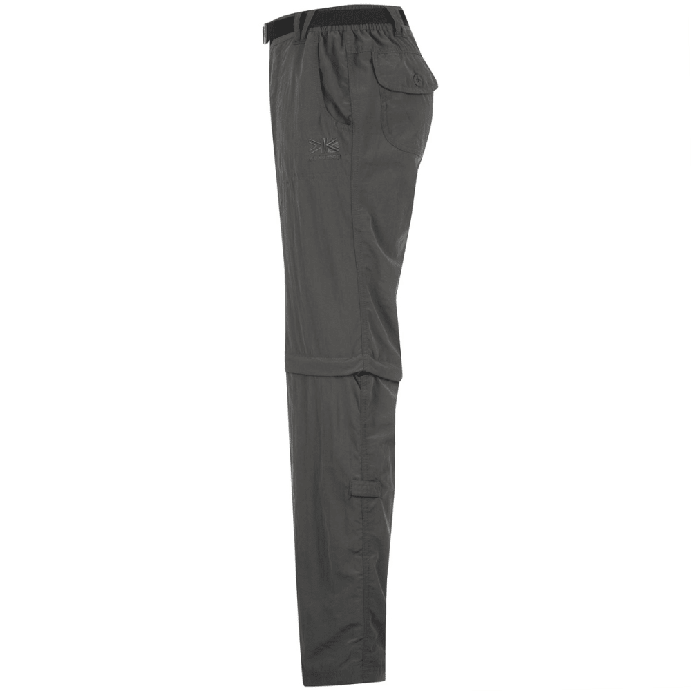 KARRIMOR Women's Zip-Off Pants - CHARCOAL