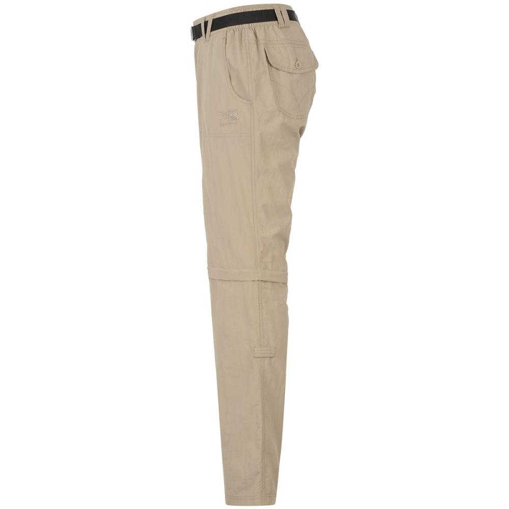 KARRIMOR Women's Zip-Off Pants - BEIGE