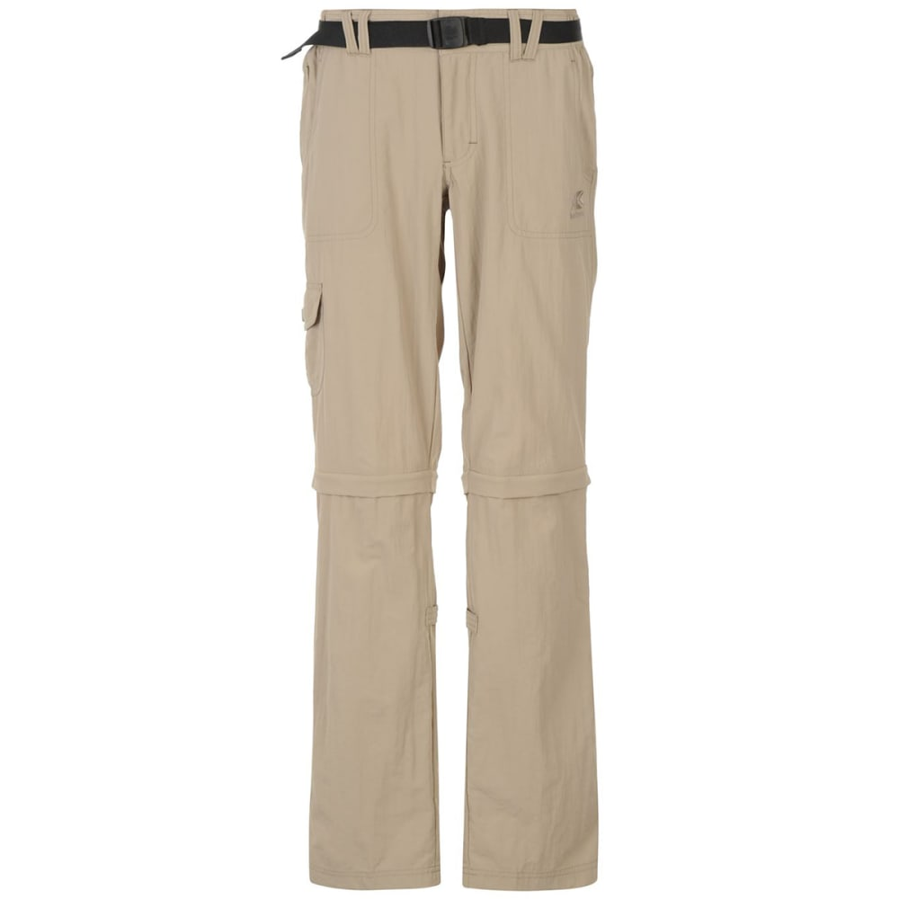 KARRIMOR Women's Zip-Off Pants - BEIGE