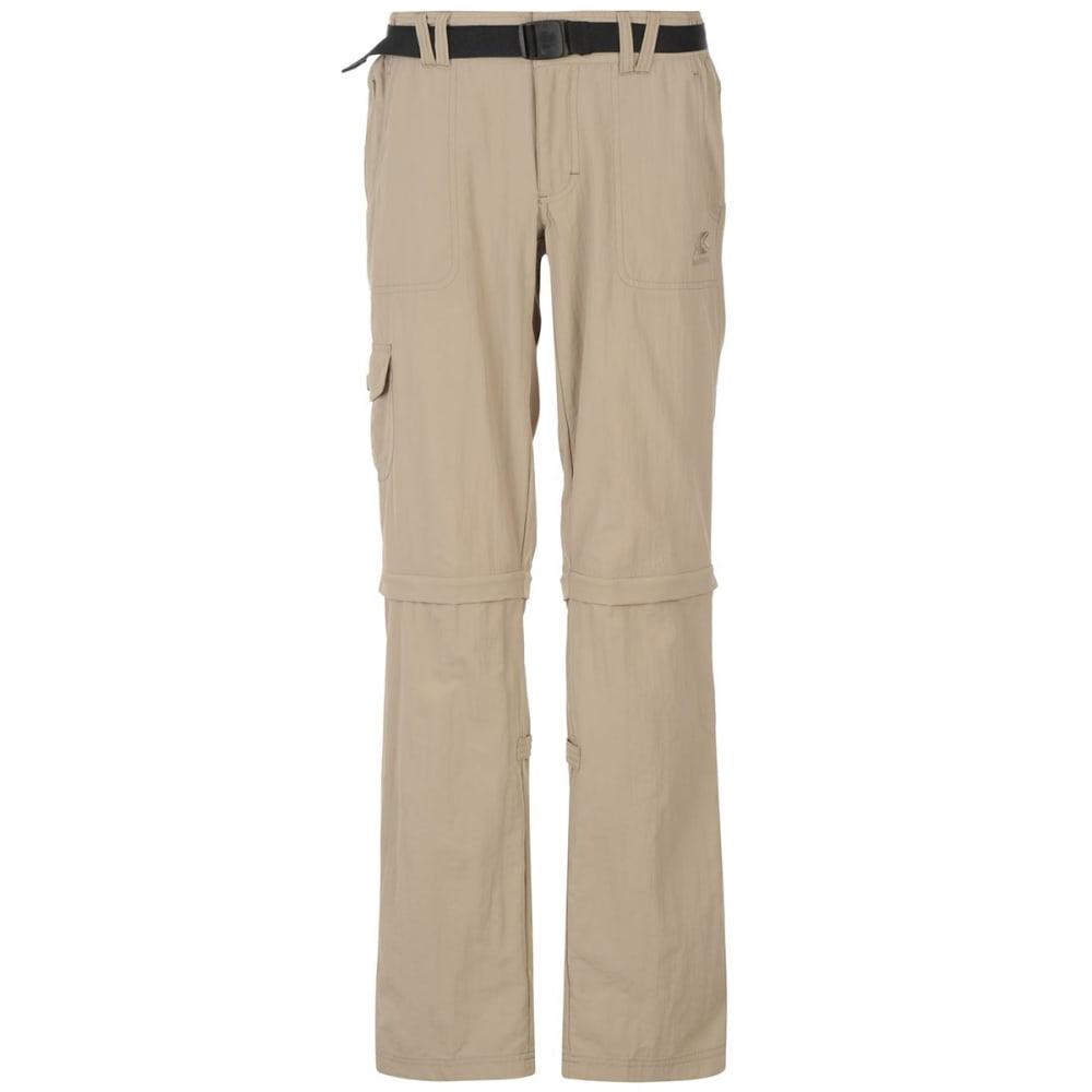 KARRIMOR Women's Aspen Zip-Off Pants - BEIGE