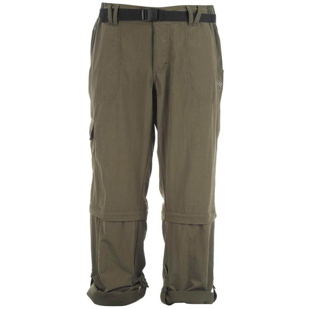 KARRIMOR Women's Zip-Off Pants - KHAKI