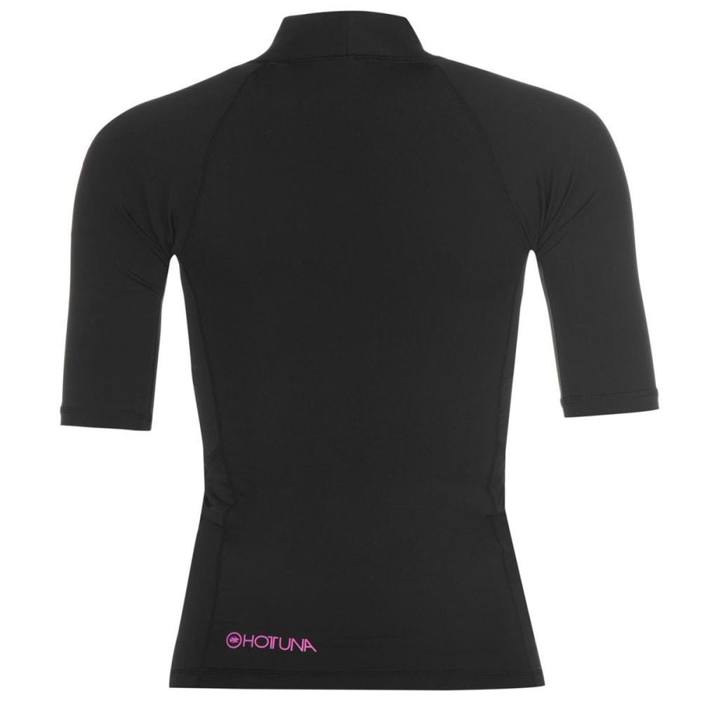 HOT TUNA Women's Short-Sleeve Rash Tee - BLACK/PINK