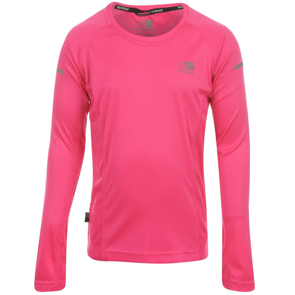 KARRIMOR Girls' Long-Sleeve Running Top 9-10