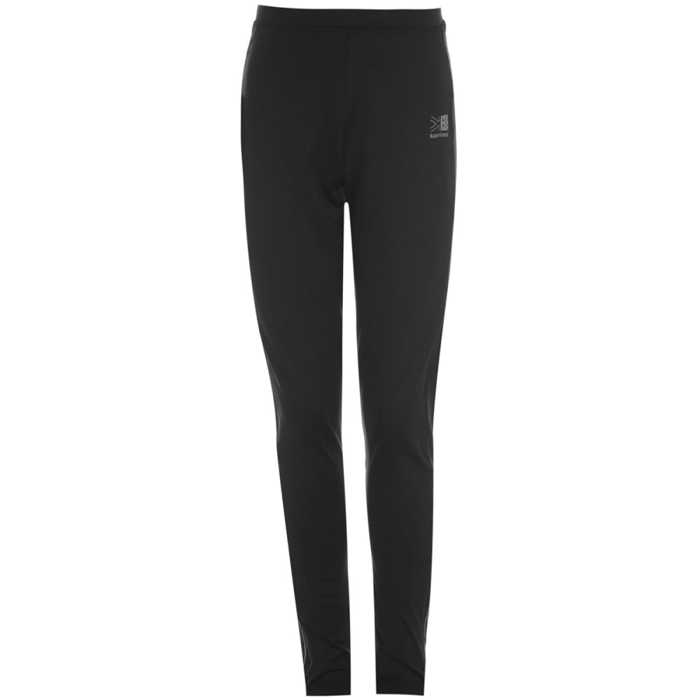 KARRIMOR Juniors' Running Tights - BLACK