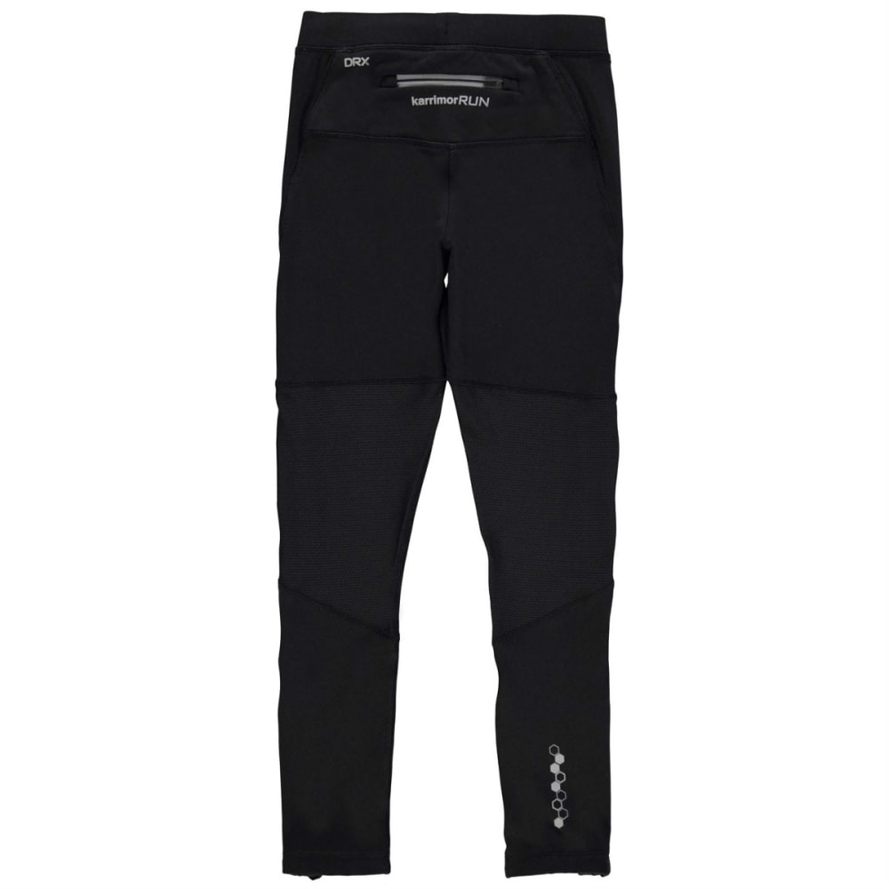 KARRIMOR Boys' XLite Running Tights - BLACK